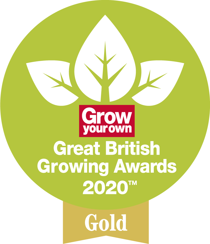 Grow your own Great British Growing Awards 2020: Gold