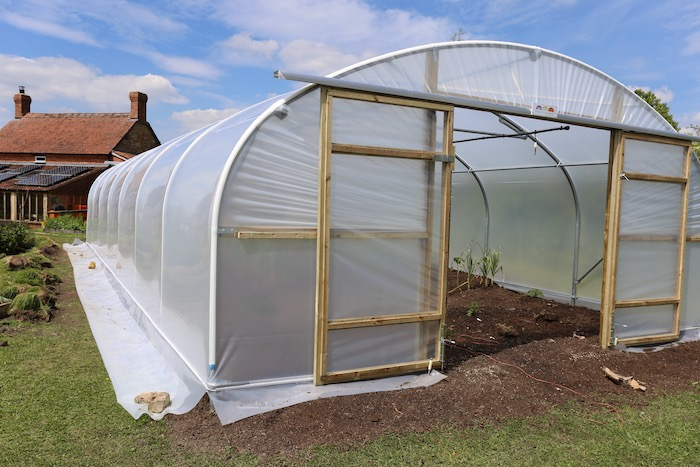 New polytunnel First Tunnels