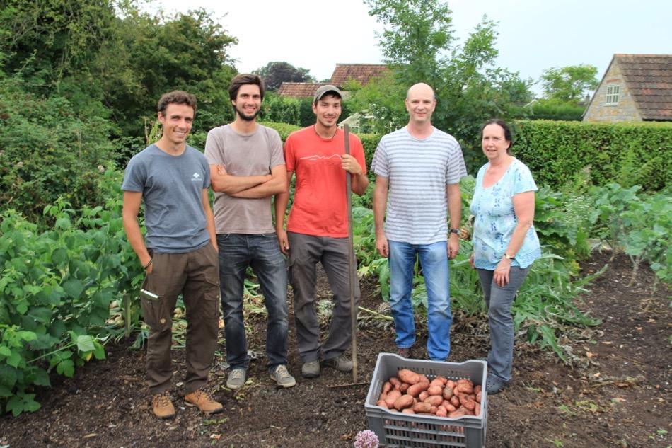 Potato harvest course group