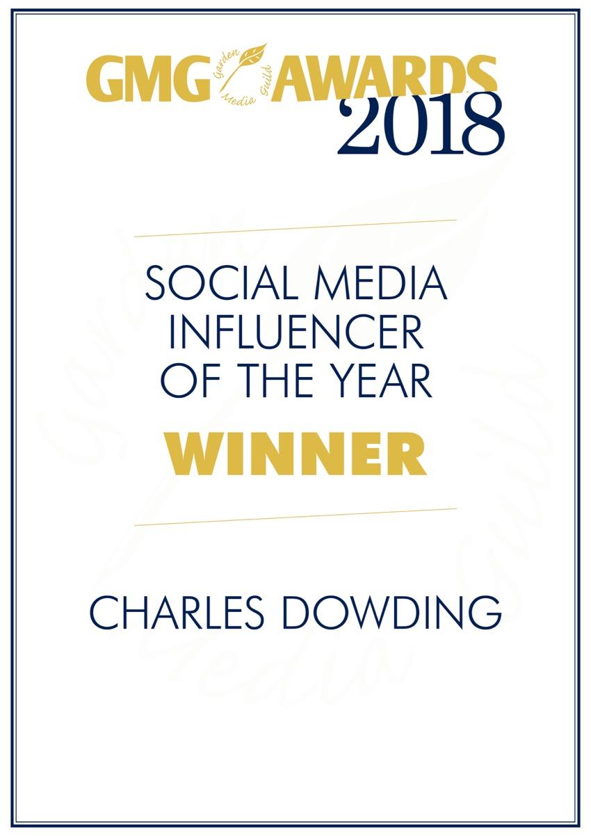 Charles' award GMG 2018
