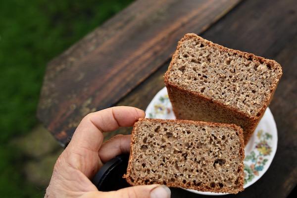 The bread, sourdough and no knead