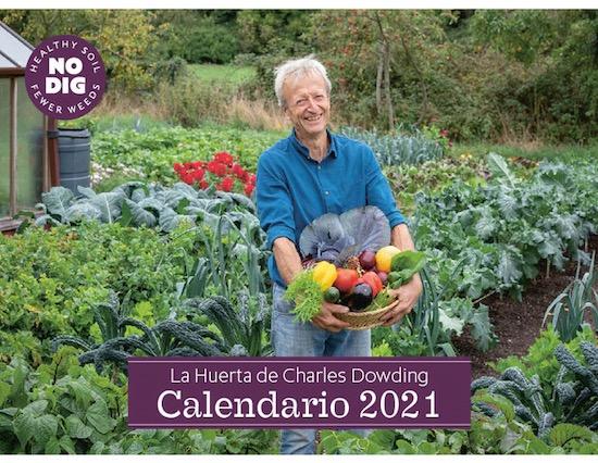 Calendar all in Spanish for 2021