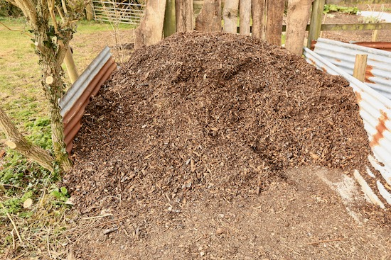 Heap of old woodchip just purchased